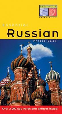 AA: Russian Essential Phrase Book by PERIPLUS image