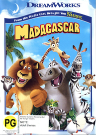 Madagascar (New Packaging) on DVD image
