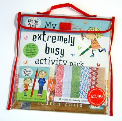 My Extremely Busy Activity Pack by Lauren Child