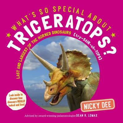 What's So Special About Triceratops? by Nicky Dee image