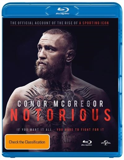 Conor Mcgregor - Notorious on Blu-ray image