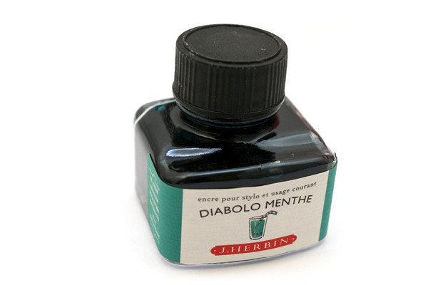 J Herbin: Fountain Pen Ink - Diabolo Menthe (30ml) image