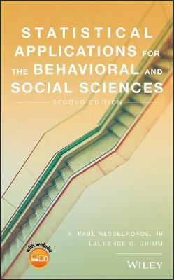 Statistical Applications for the Behavioral and Social Sciences by Laurence G. Grimm image
