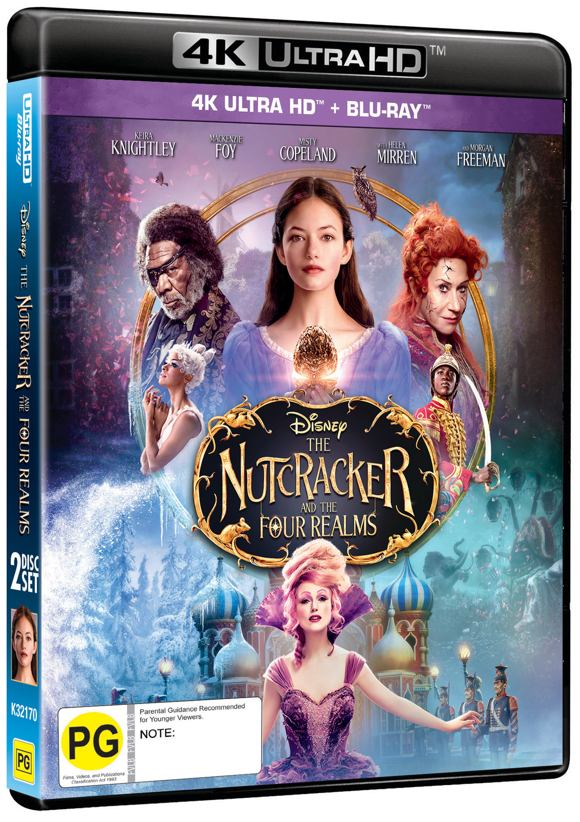 The Nutcracker And The Four Realms on UHD Blu-ray image