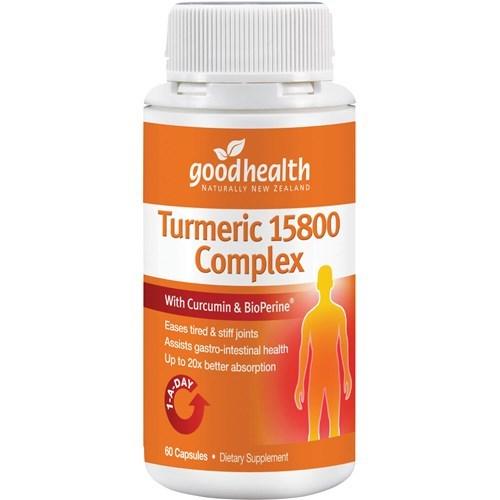 Good Health - Turmeric 15800 Complex Capsules (60s) image