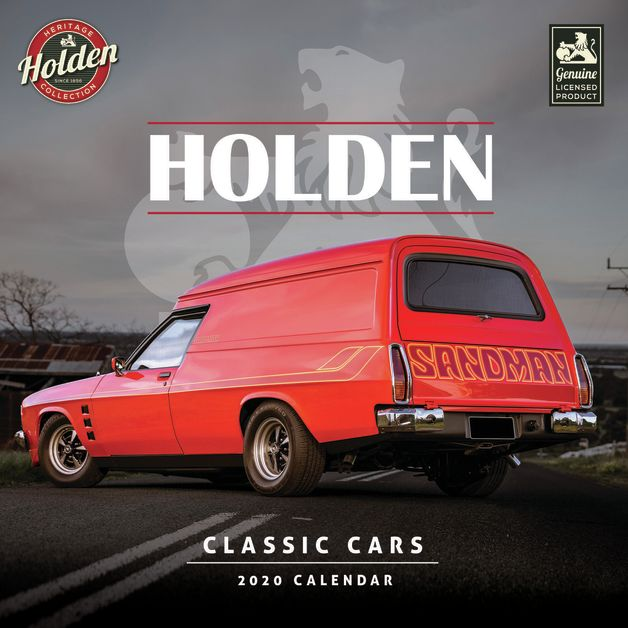 Classic Holden Cars 2020 Mini Wall Calendar