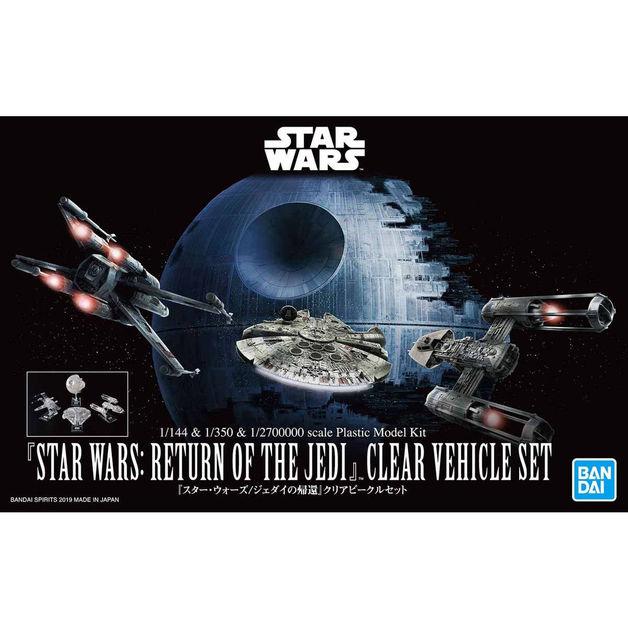 Star Wars Vehicle Model: Return of The Jedi Clear Vehicle Set - Model Kit