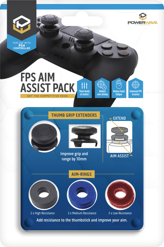 Powerwave PS4 FPS Aim Assist Pack for PS4