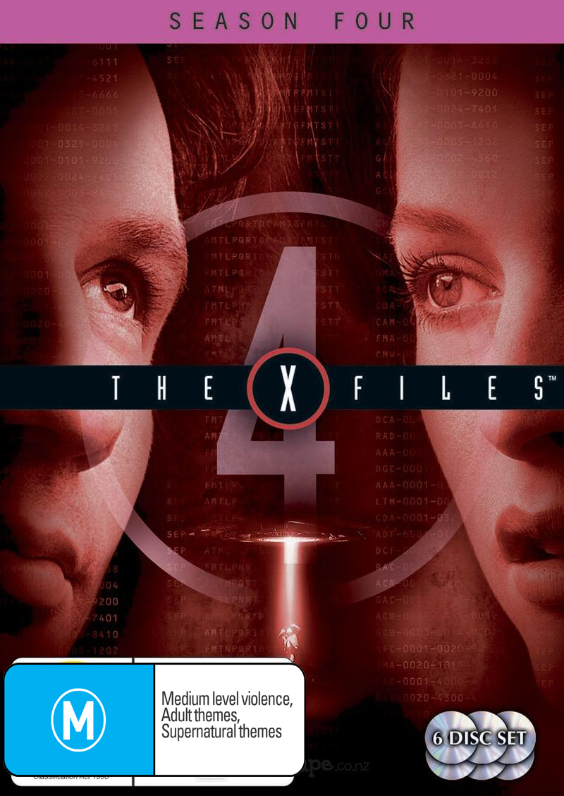 The X-Files - Season 4 (6 Disc Set) on DVD image