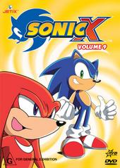 Sonic X - Volume 09 on DVD