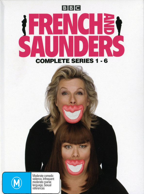 French & Saunders - Complete Series 1-6 (6 Disc Box Set) DVD