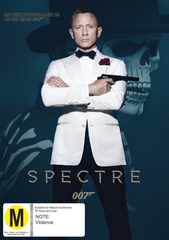 Spectre on DVD