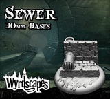 Wyrdscapes: Sewer #3 - Terrain Bases (30mm)