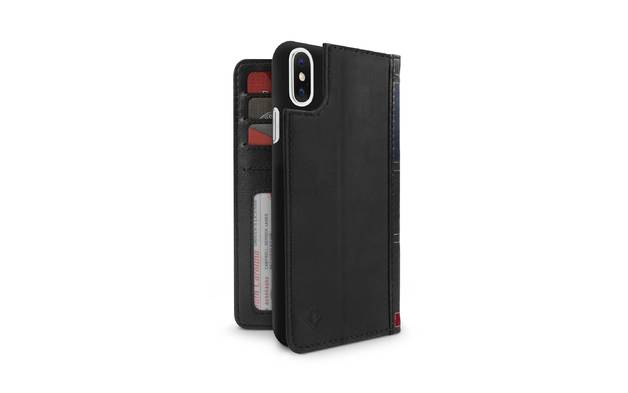 TWELVE SOUTH BookBook for iPhone X/XS (Black)