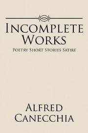 Incomplete Works by Alfred Canecchia image