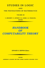 Handbook of Computability Theory: Volume 140
