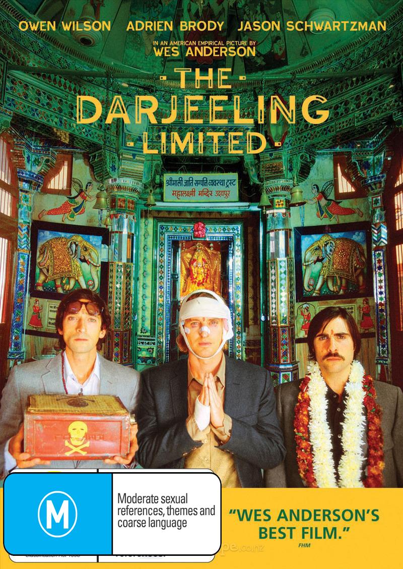 The Darjeeling Limited on DVD image
