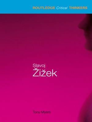 Slavoj Zizek by Tony Myers image