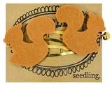Seedling: Cute as a Bell Felt Hair Clips - Squirrels