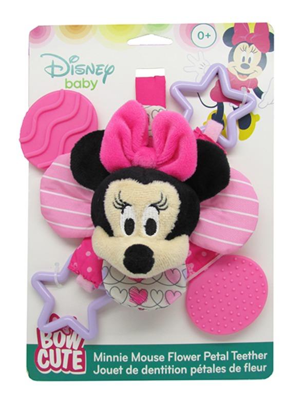 Disney Baby: Minnie Bow - Cute Petal Teether Rattle