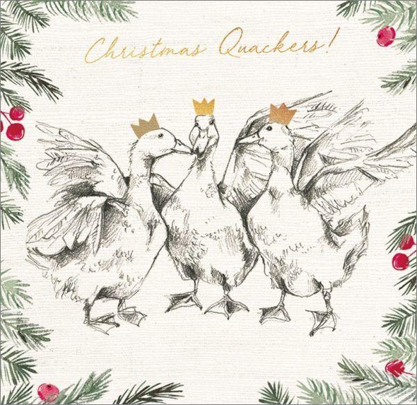 Art Marketing:Boxed Christmas Cards - Christmas Quackers image