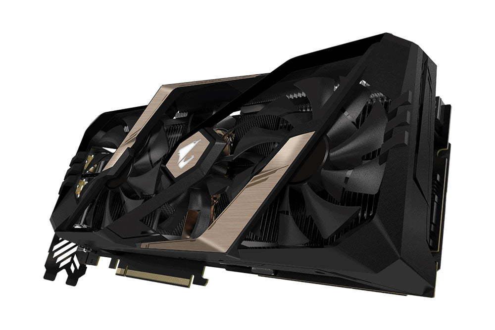 Gigabyte AORUS RTX 2080 Xtreme 8GB GDDR6 RTX PCIE Graphics Card image