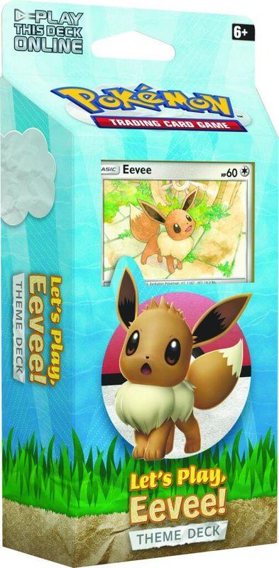 Pokemon TCG: Let's Play Theme Deck (Eevee)