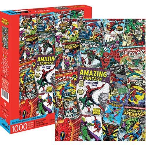 Marvel: 1,000 Piece Puzzle - Spider-Man Collage