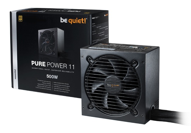 500W be quiet! Pure Power 11