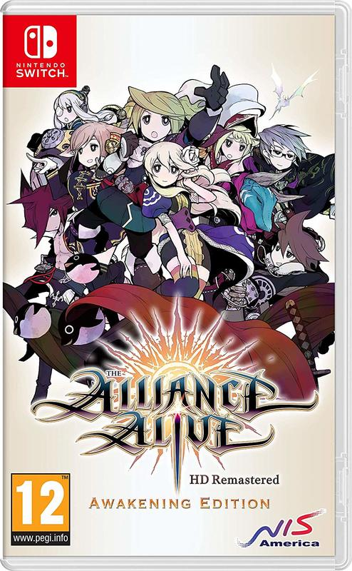 The Alliance Alive HD Remastered for Switch