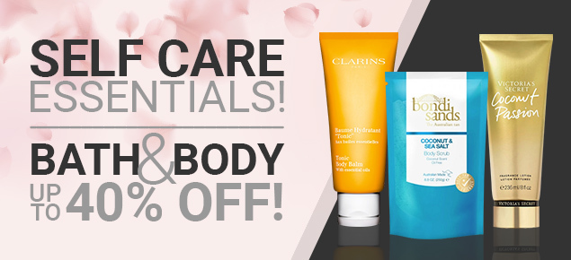 Bath & Body up to 40% off!