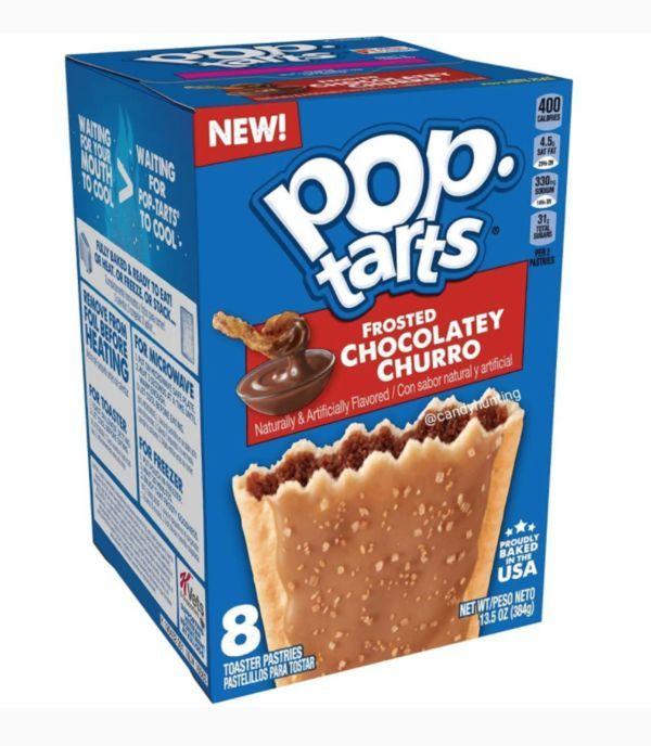Kellogg's Pop Tarts Frosted Chocolatey Churros