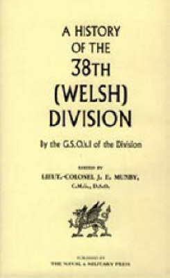 History of the 38th (Welsh) Division by J E Munby image