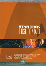 Star Trek 08 - First Contact Special Edition (2 Disc) on DVD