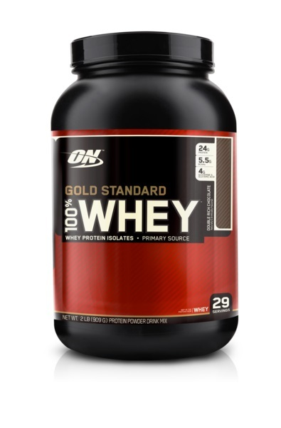 Optimum Nutrition Gold Standard 100% Whey - Double Rich Chocolate (907g) image