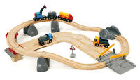 Brio: Railway - Rail & Road Loading Set