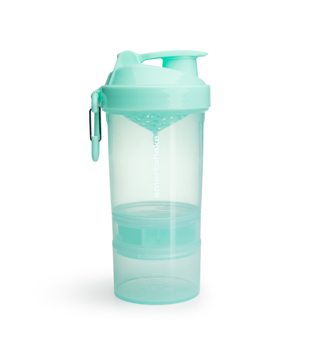 Smartshake Original 2Go Protein Shaker - Mint Green (600ml)