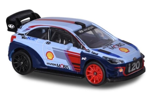 Majorette: WRC Hyundai I20 - Diecast Vehicle