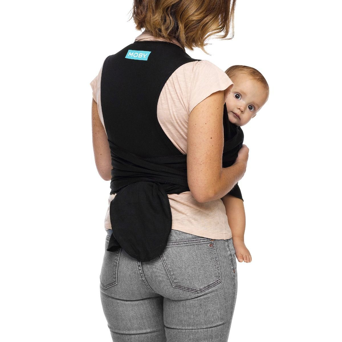 Moby Fit Baby Carrier - Black image