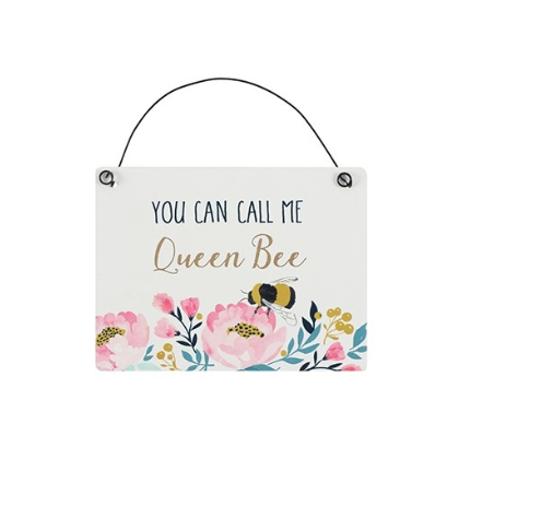 Blossom & Bee mini signs: Queen Bee