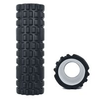 Adidas Fitness Foam Roller - Black Textured image