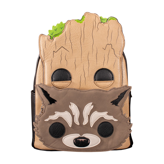 Loungefly: Marvel - Groot And Rocket Backpack