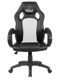 Gorilla Gaming Chair - White & Black for