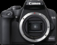Canon EOS 1000D 10MP Digital SLR Camera - Body Only image