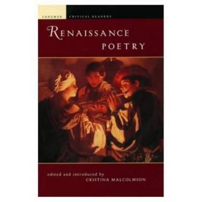 Renaissance Poetry by Cristina Malcomson