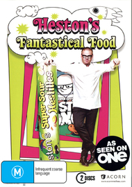 Heston's Fantastical Food - Series One (2 Disc Set) on DVD