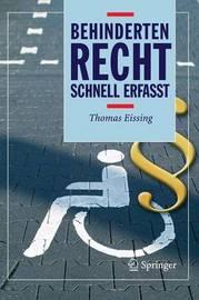 Behindertenrecht: Schnell Erfasst by Thomas Eissing