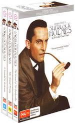 Sherlock Holmes (1984) - Vol. 1 (3 Disc Box Set) on DVD