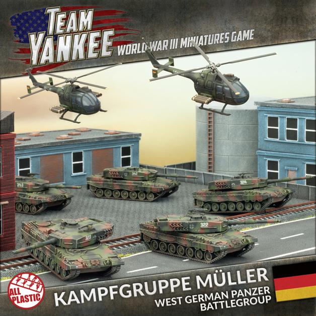 Flames of War: Team Yankee - Kampfgruppe Muller