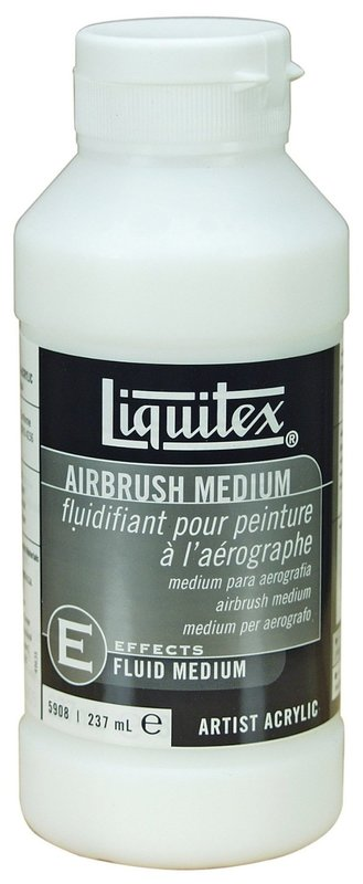 Liquitex: Airbrush Fluid - Effects Medium (237ml)